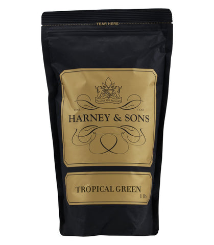 Harney & Sons Fine Teas Tropical Green Loose Tea - 16 oz