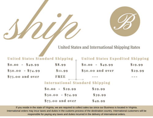 Shipping Rate - Tax Information