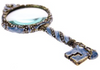 Pewter Key Magnifying Glass
