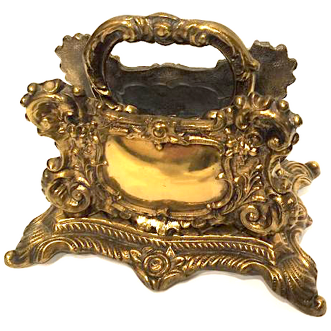 Vintage Baroque Letter Holder or Napkin Holder