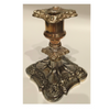 Ornate Silver Plated Candle Holder
