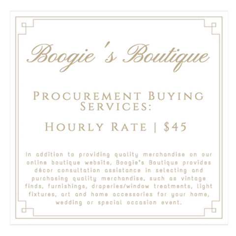 e-Décor Procurement Buying Service