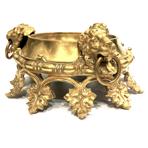 Brass Decorative Pedestal Bowl