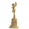 Decorative Brass Cherub Service Desk Bell