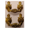 Vintage Decorative Gold Drawer Pulls | Handles (Set of 2)
