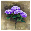 Hydrangea Brushstroke Canvas Print Art