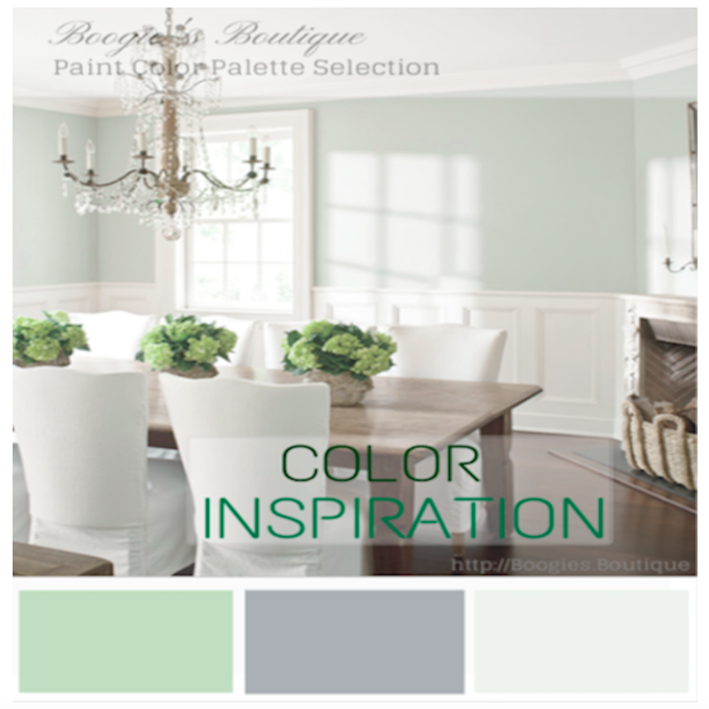 Online E Decor Paint Color Palette Selection