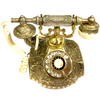 Vintage Ornate French Decorator Rotary Telephone