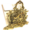 Vintage Brass Cherub Mail Holder