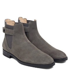 MT Chelsea Boot Strap Suede