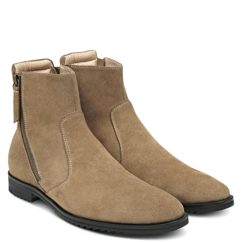 MT Chelsea Boot Zip Suede