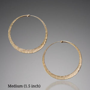 Earrings - 14k Gold Hoop Earrings
