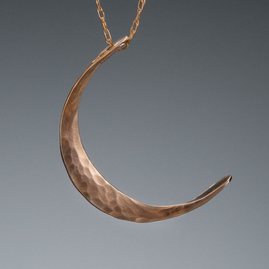 gold yellow collections moonyellow pendant with bdaf moon sterling silver crescent necklace products