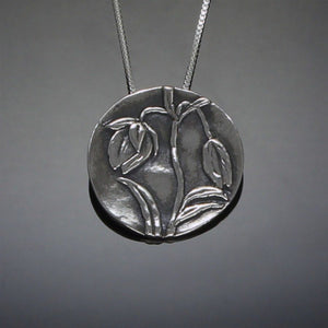 Fairy Lantern pendant in sterling silver