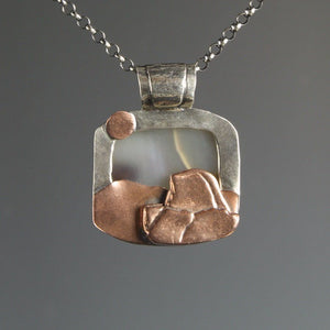 Lightning on Half Dome pendant