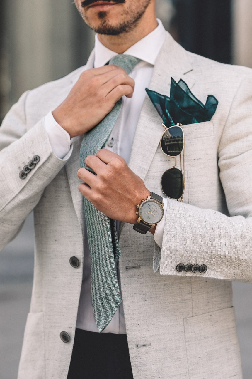 Its Layering Season...Don't Forget Your Tie