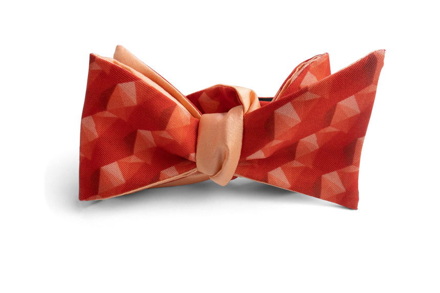 Gemstone Bow Tie Set