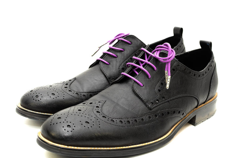 Men's Dress Shoe Laces | Colored Shoe Laces | Purple Shoe Lace. Ocean Boulevard. Men's Accessories