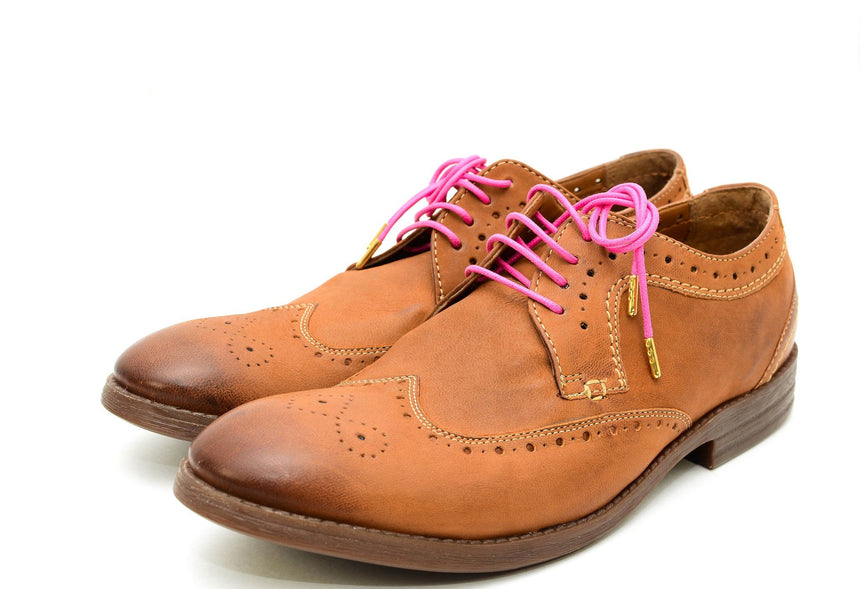 Men's Dress Shoe Laces | Colored Shoe Laces | Pink Shoe Lace. Ocean Boulevard. Men's Accessories