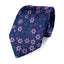 Blue and purple silk tie design from Ocean Boulevard