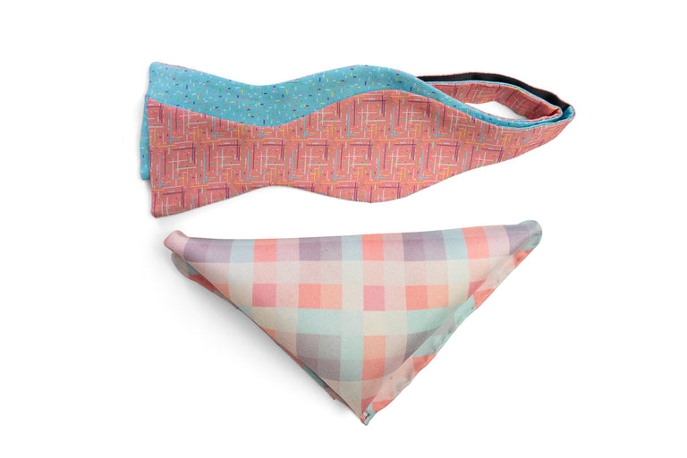 Scandinavian Spring Bow Tie Set