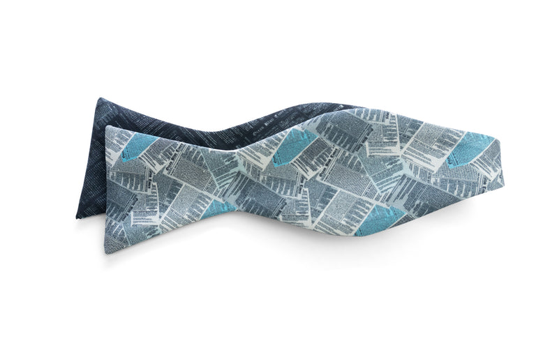 Tabloid (Anniversary Edition) Reversible Bow Tie