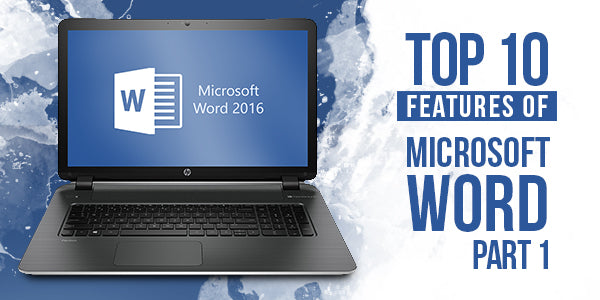 Microsoft Word Features That I love