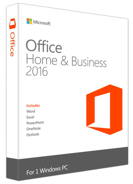 Microsoft Office Home and Business 2016 for Windows PC