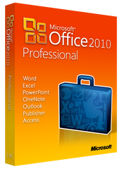 Microsoft Office Professional 2010 for Windows PC