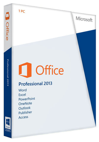 Microsoft Office Professional 2013 for Windows PC