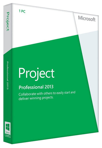 Microsoft Project Professional 2013 for Windows PC