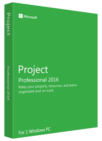 Microsoft Project Professional 2016 for Windows PC