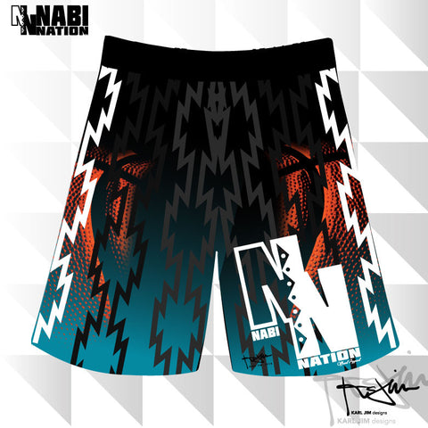 NABI Nation Basketball Shorts (Karl Jim Designs)