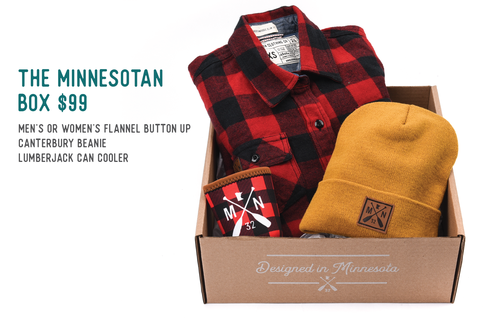 The Minnesotan Box $99