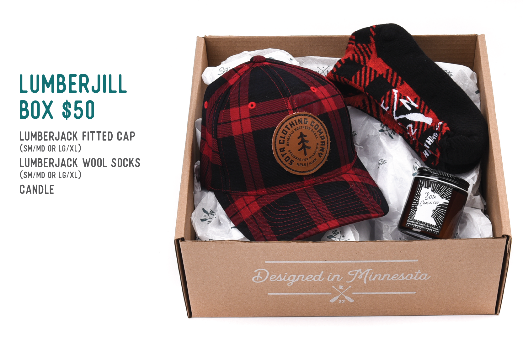 Lumberjill Box $50