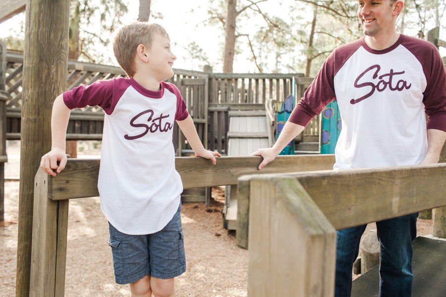 Cherrywood Youth Raglan