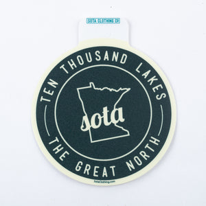 10K Lakes Sticker