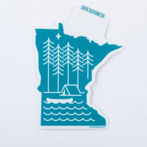 Boundary Waters Sticker