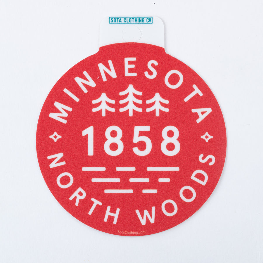 Northwoods Sticker