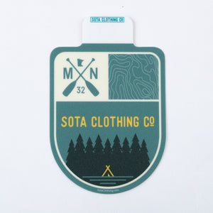 Topo Badge Sticker
