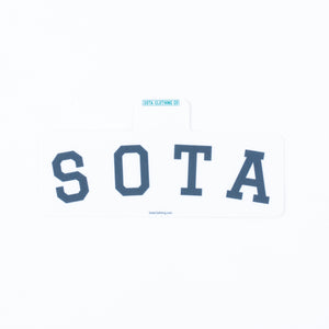 Sota Block Letters Sticker