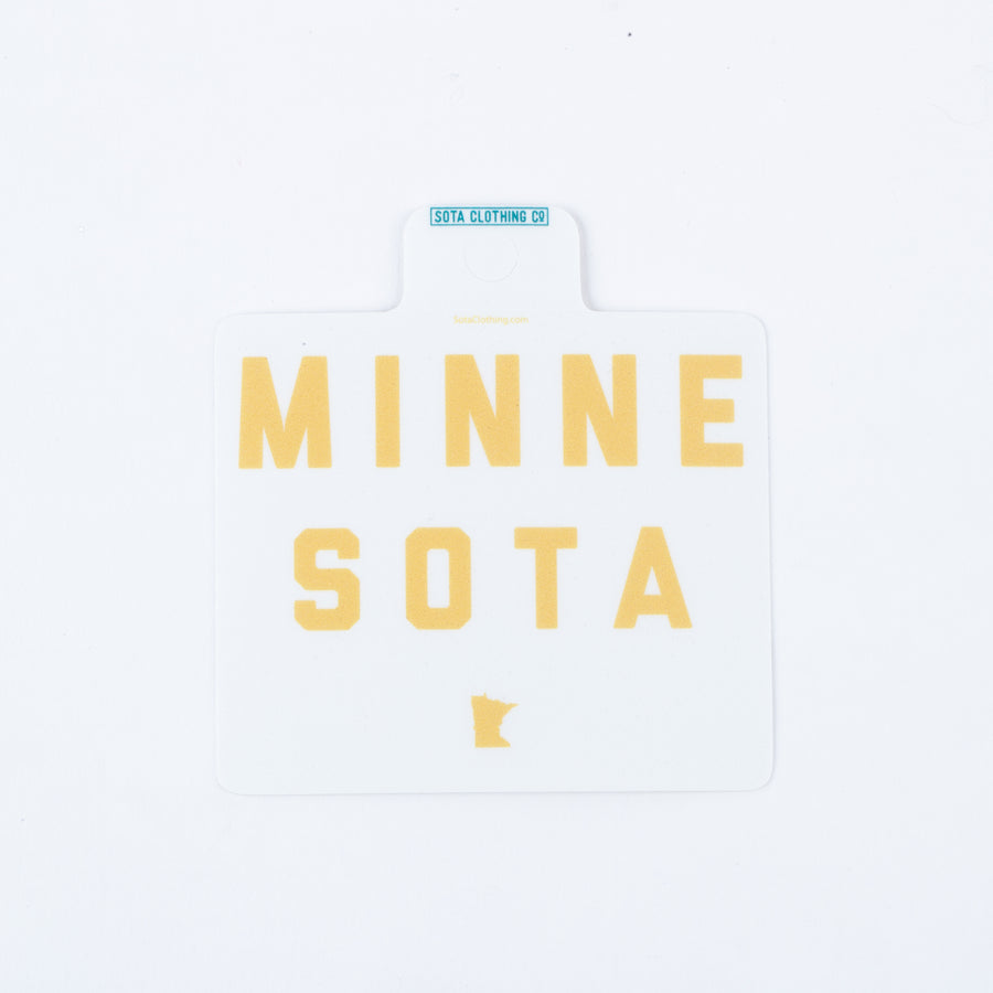 Minne-Sota Sticker