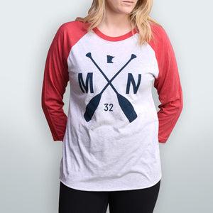 The Ball Park Raglan - FINAL SALE