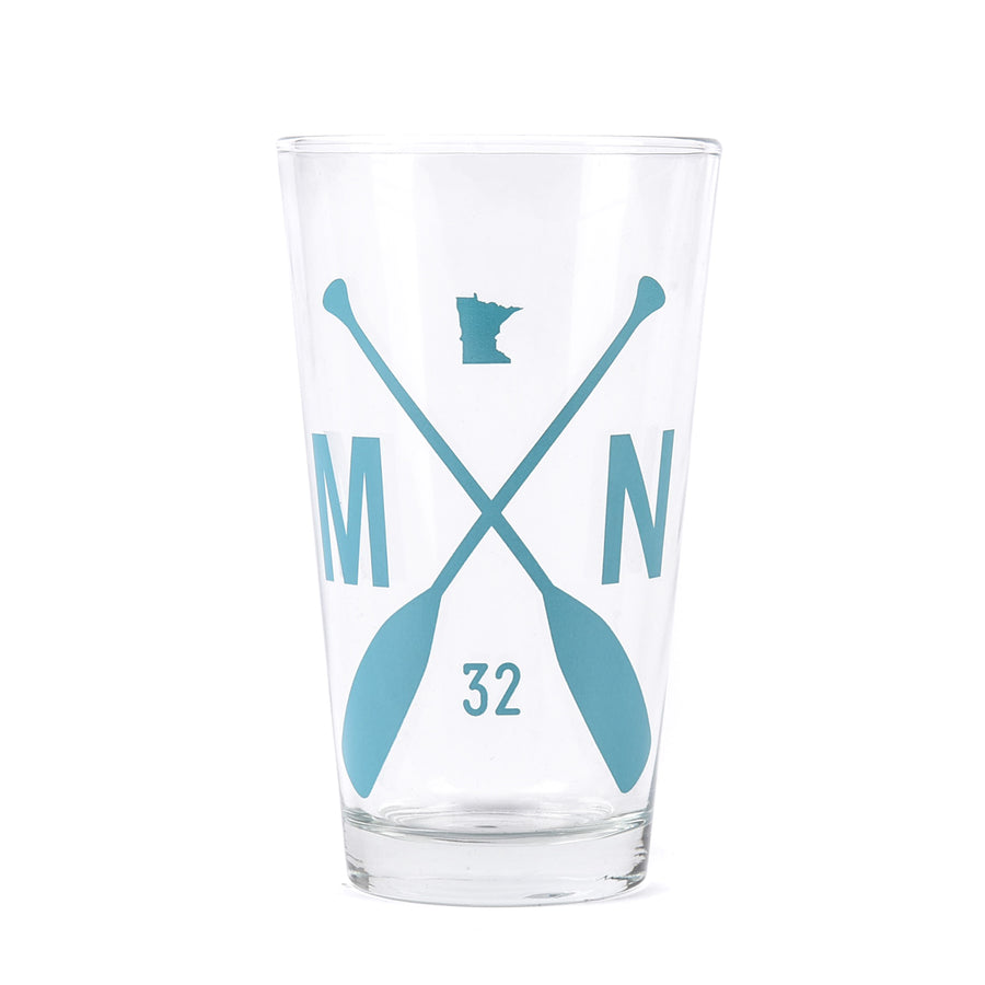 MN Paddle Pint Glasses