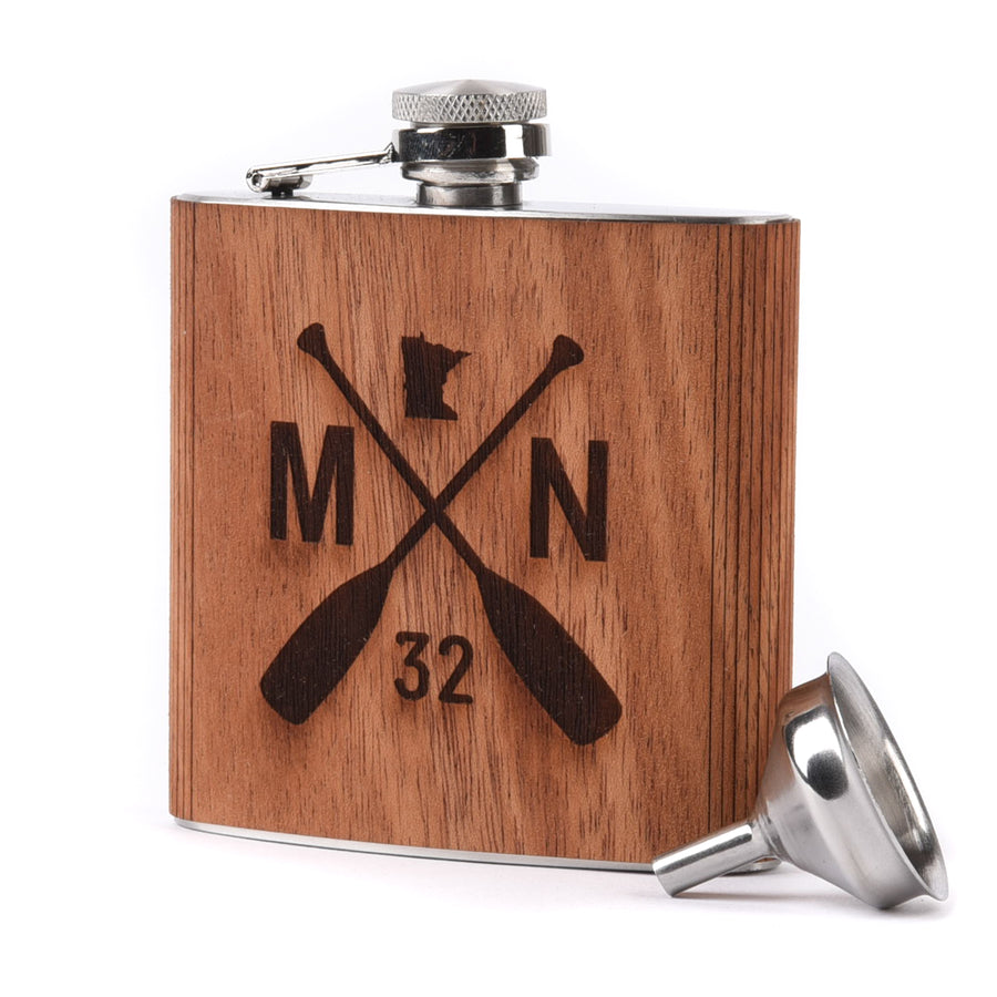 Wooden Flask