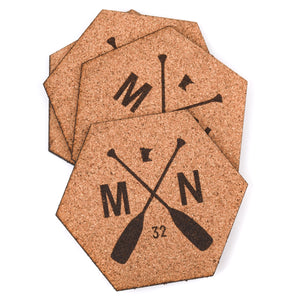 Stone Arch Hexagon Coasters