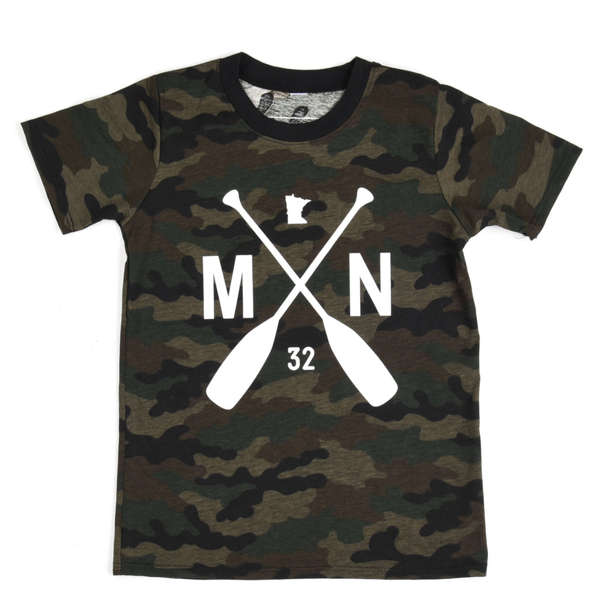Youth Starbuck Camo Tee
