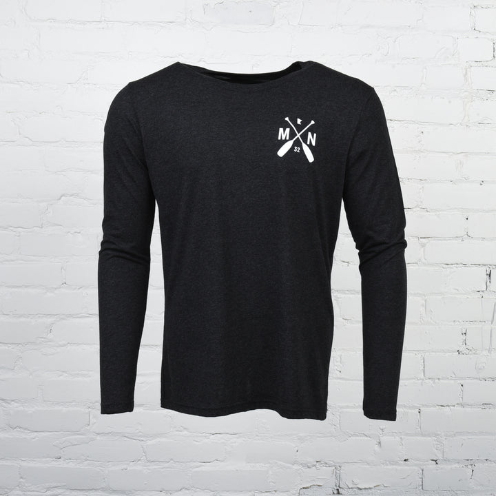 Logan Unisex Long Sleeve Black