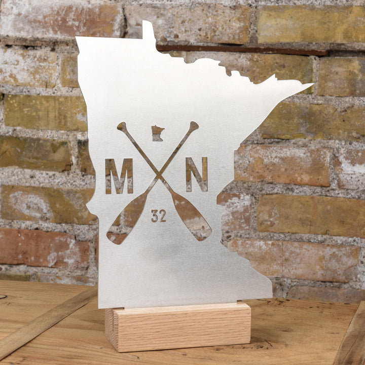 MN Paddle Aluminum Stand