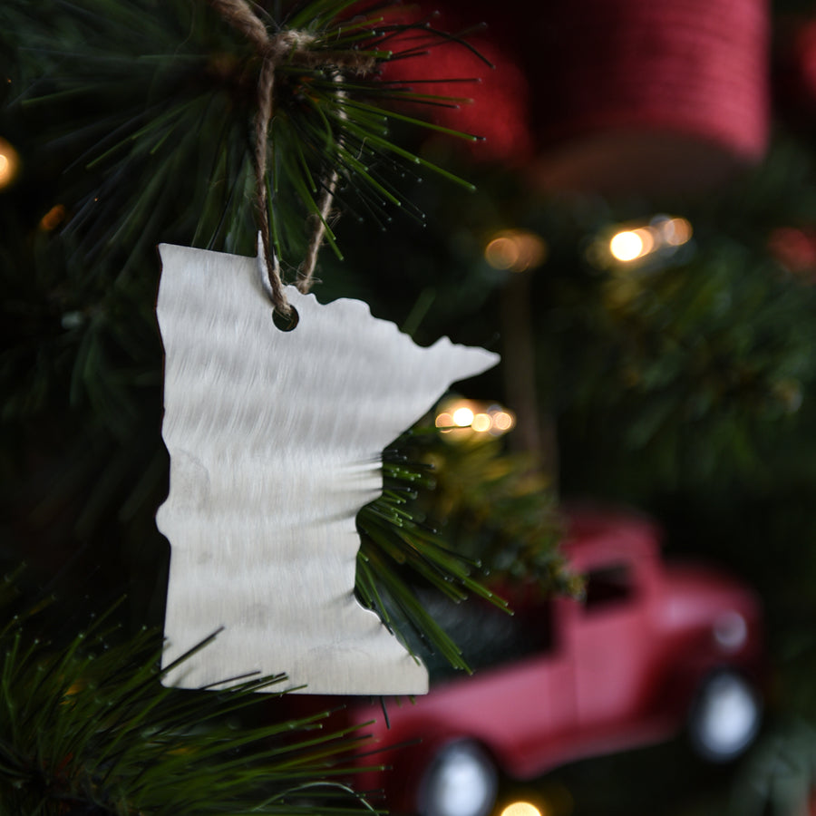 Minnesota Metal Ornament